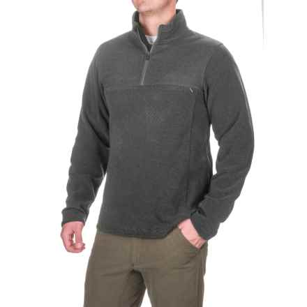 ExOfficio Vergio Shirt - UPF 30, Zip Neck, Long Sleeve (For Men) in Black - Closeouts