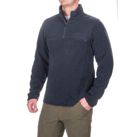 ExOfficio Vergio Shirt - UPF 30, Zip Neck, Long Sleeve (For Men) in Navy - Closeouts
