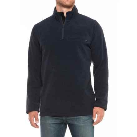 ExOfficio Vergio Zip Neck Shirt - UPF 30, Long Sleeve (For Men) in Navy - Closeouts