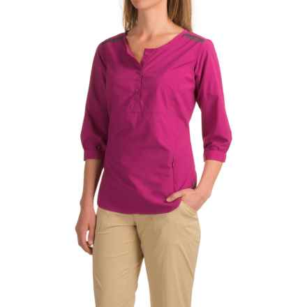 ExOfficio Vernazza Shirt - UPF 30+, Long Sleeve (For Women) in Dazzle - Closeouts