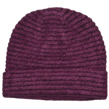 ExOfficio Vona Beanie Hat (For Women) in Plum/Dark Thistle - Closeouts