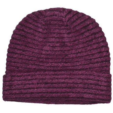 ExOfficio Vona Beanie Hat (For Women) in Plum/Dark Thistle