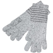 ExOfficio Vona Gloves (For Women) in Winter White/Slate - Closeouts