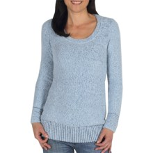 ExOfficio Vona Long Sweater - Scoop Neck (For Women) in Frost - Closeouts