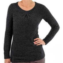 ExOfficio Vona Scoop Sweater (For Women) in Dark Pebble - Closeouts