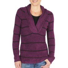 ExOfficio Vona Sweater - Shawl Collar (For Women) in Plum - Closeouts