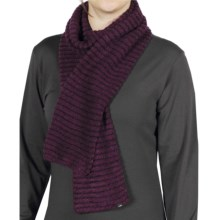 ExOfficio Vona Tube Scarf (For Women) in Plum/Dark Thistle - Closeouts