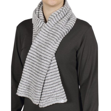 ExOfficio Vona Tube Scarf (For Women) in Winter White/Slate