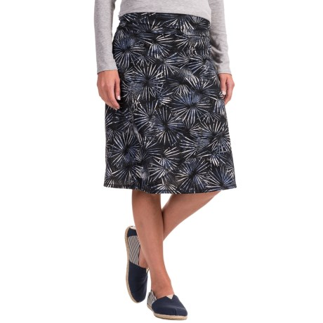 ExOfficio Wanderlux Convertible Printed Skirt - UPF 30 (For Women) in Carbon