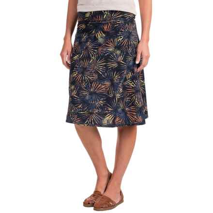 ExOfficio Wanderlux Convertible Printed Skirt - UPF 30 (For Women) in Indigo - Closeouts