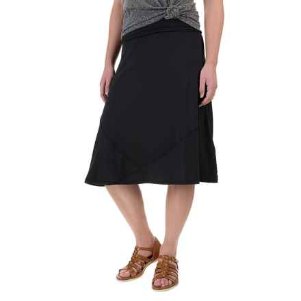 ExOfficio Wanderlux Convertible Skirt - UPF 30 (For Women) in Black - Closeouts