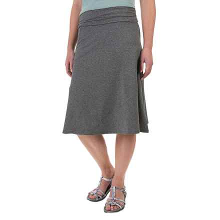 ExOfficio Wanderlux Convertible Skirt - UPF 30 (For Women) in Charcoal Heather - Closeouts