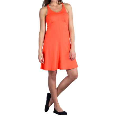 ExOfficio Wanderlux Tank Dress - UPF 30 (For Women) in Hot Coral - Closeouts