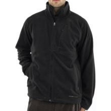 ExOfficio Wind Logic Jacket - Polartec® Wind Pro® (For Men) in Black - Closeouts