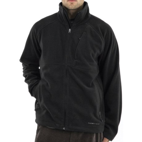 ExOfficio Wind Logic Jacket - Polartec® Wind Pro® (For Men) in Black