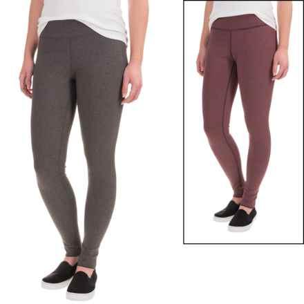 ExOfficio Zhanna Reversible Leggings (For Women) in Brandy - Closeouts
