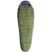 Exped 30°F Waterbloc 600 Down Sleeping Bag - Waterproof, 750 Fill Power, Mummy in Green/Grey - Closeouts