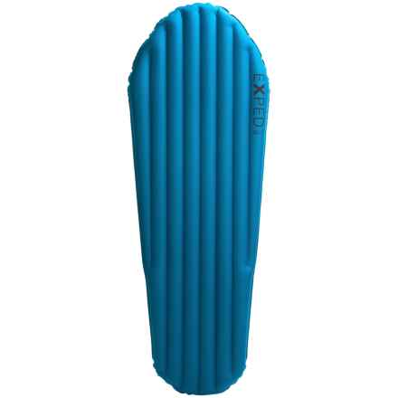 Exped AirMat Hyperlite Sleeping Pad - Inflatable, Long/Wide in Blue - Closeouts