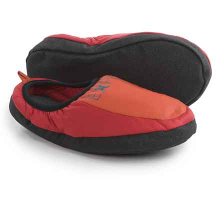 Exped Camp Slippers - Insulated (For Men and Women) in Ruby Red - Closeouts