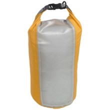 Exped Clear Sight Fold Drybag - Small in Yellow - Closeouts