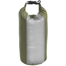 Exped Clear Sight Fold Drybag - XS in Green - Closeouts