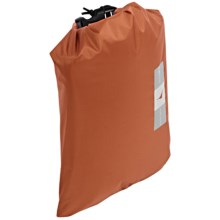 Exped Crush Drybag - XS2, Dimensional in Terracotta - Closeouts