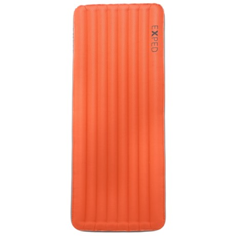 Exped SynMat Mega Sleeping Pad - Inflatable, Rectangular, Long, Wide in Terracotta