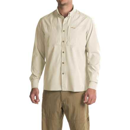 Exterus Streamer Shirt - Long Sleeve (For Men) in Sand - Closeouts