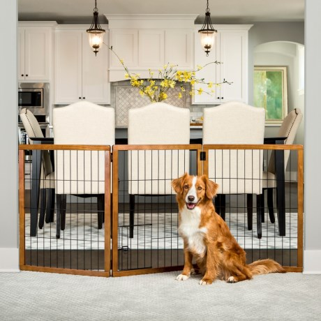 Extra-Tall Expandable Pet Gate