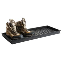 Extra Weave USA Heavy-Duty Rubber Boot Tray in Basket Weave - Overstock