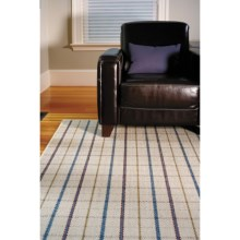 Extra Weave USA Montclair Area Rug - 4x6', Sisal in Plaid - Overstock