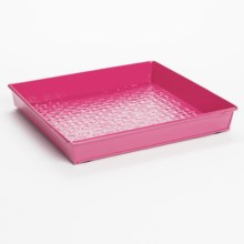 Extra Weave USA Square Boot Tray - Bright in Hot Pink - Closeouts