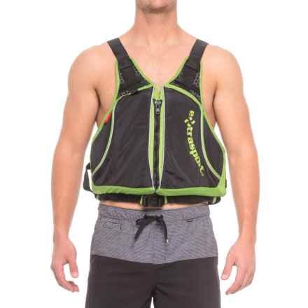 Extrasport Evolve Type III PFD Life Jacket (For Men) in Apple Green - 2nds