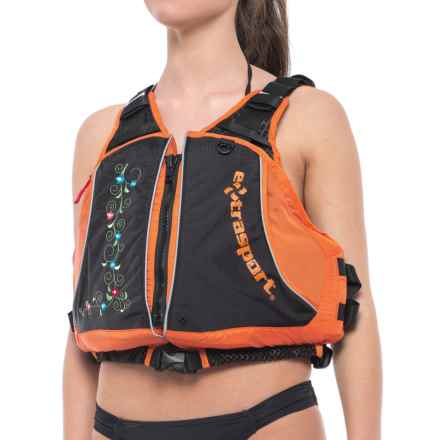 Extrasport Evolve Type III PFD Life Jacket (For Women) in Mandarin - 2nds