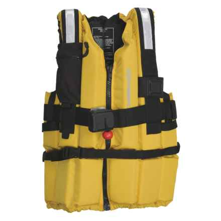 Extrasport Ranger PFD Life Jacket - USCG Approved, Type V (For Men and Women) in Yellow/Black - Closeouts