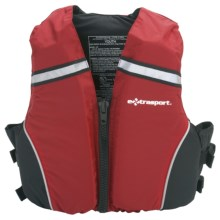 Extrasport Volks Jr. PFD Life Jacket - USCG Approved (For Youth) in Red/Black - Closeouts