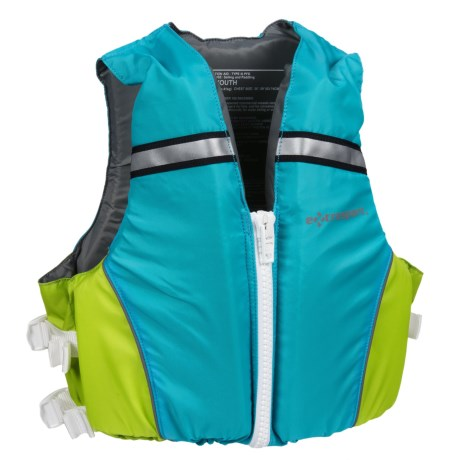 Extrasport Volks Jr. PFD Life Jacket - USCG Approved (For Youth)