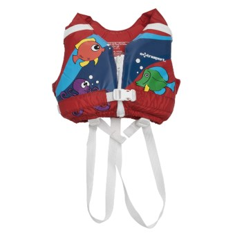 Extrasport Volks PFD Life Jacket - USCG Approved, Type III (For Kids) in Red