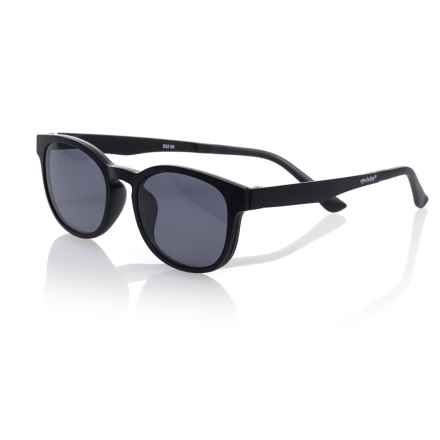 eyebobs Animal Magnetism Reading Glasses - Clip-On Polarized Lenses (For Men) in Matte Black/ Polarized Grey - Closeouts