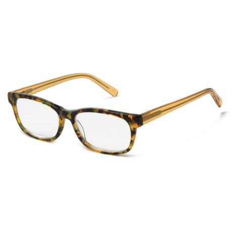 eyebobs Bob Frapples Readers Glasses (For Men) in Camo/Orange Crystal