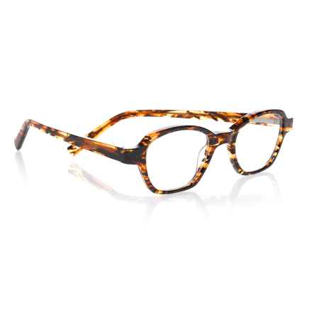 eyebobs Haute Flash Reading Glasses (For Women) in Orange Tortoise - Closeouts