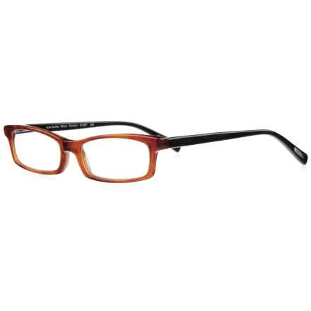 eyebobs Man Power Reading Glasses (For Men and Women) in Orange Tortoise/Black Diopter - Overstock