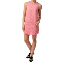 Eyelet Woven Dress - Sleeveless (For Women) in Pink - 2nds