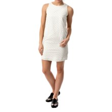 Eyelet Woven Dress - Sleeveless (For Women) in White - 2nds