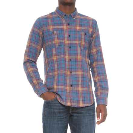 Ezekiel Blayke Shirt - Long Sleeve (For Men) in Sea Blue - Closeouts