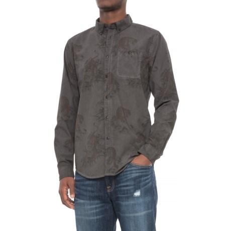 Ezekiel Prowler Shirt - Long Sleeve (For Men) in Black