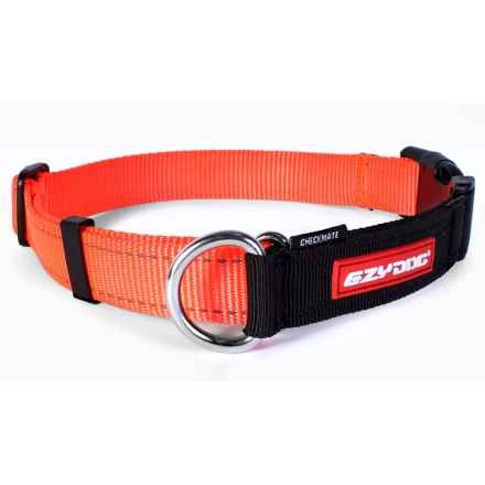 EzyDog Checkmate Training Collar - XL in Blaze Orange - Closeouts