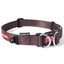 Ezydog Double Up Collar - Extra Large in Chocolate - Closeouts