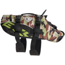 EzyDog PFD Doggy Flotation Vest - Extra Small in Green Camo - Closeouts