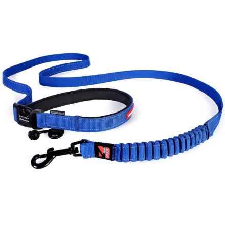 EzyDog Road Runner Dog Leash - 7' in Blue - Closeouts